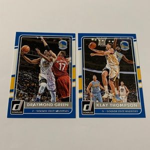 Lot of 2: '16 Golden State Warriors Cards